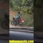Image Punjabi boy masturbating openly on road