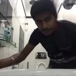 Image Desi Indian gay boy in Doing Masturbation in bathroom