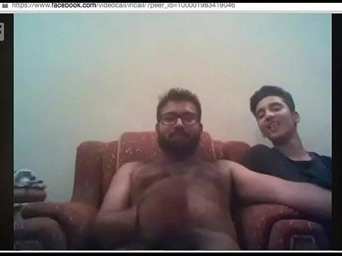Indian Friends Jerking Off On Webcam