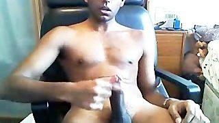 Sexy Indian guy Cum Fountain