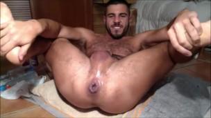 Hairy Punjabi Indian desi gay dude fuck NRI gandu