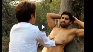 Gay Outdoor Porn of Hot Indian Stud's Blowjob