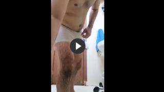 Hot Indian Hunk Takes Shower in Bulging Wet Undies